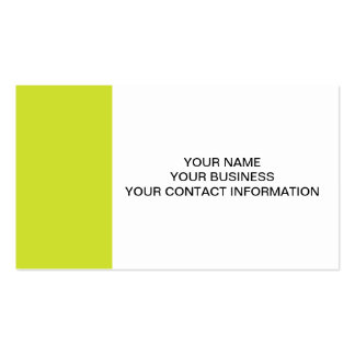 Pear High End Colored Business Card