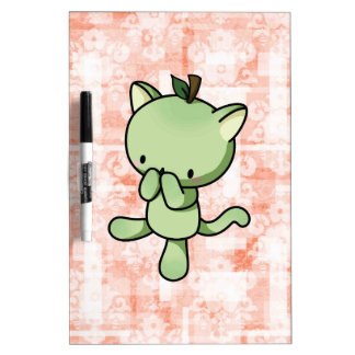 Pear Kitty Dry-Erase Boards
