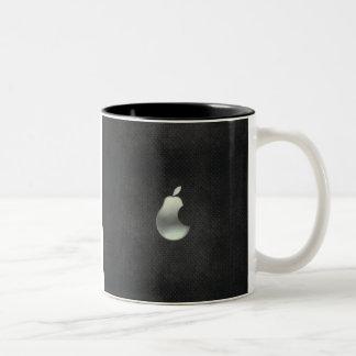 pear logo coffee mug