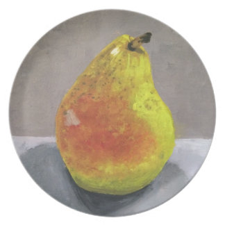 Pear Painting Plate