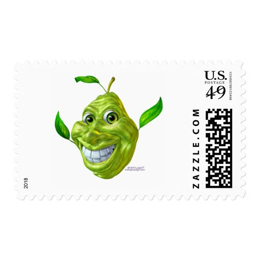 pear postage stamps