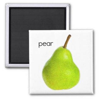 Pear Refrigerator Magnet
