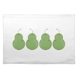 Pear Row Placemats