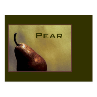 Pear, Still Life, Photography, color, template Postcard