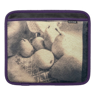 Pear Still Life Pinhole Photo iPad Sleeve