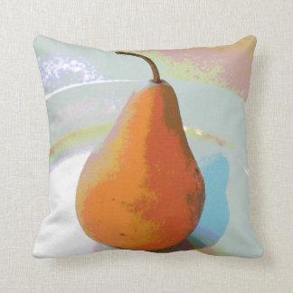 Pear Still Life Throw Pillow