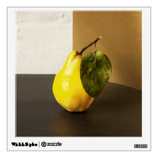 Pear Still Life wall decal