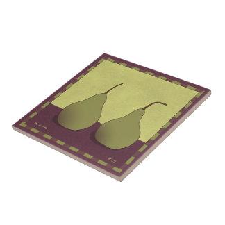 Pear Tile (framable)