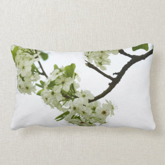 Pear Tree Branch Throw Pillow