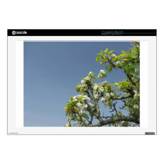 """Pear tree branches with blossoms skin for 17"""" laptop"""