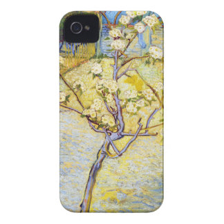 Pear Tree in Blossom Vincent van Gogh fine art iPhone 4 Case-Mate Case
