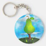 Pear Tree Key Chains