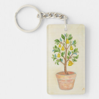 Pear Tree keychain