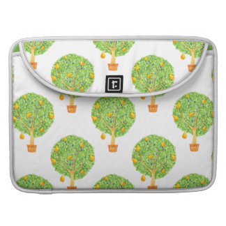 "Pear Tree Pattern 15"" MacBook sleeve"