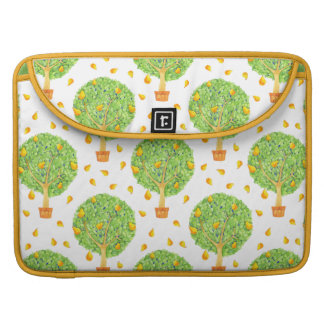 "Pear Tree Pattern Pears 15"" MacBook sleeve"