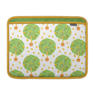 "Pear Tree Pattern Pears Macbook Air 13"" Horizontal MacBook Air Sleeve"