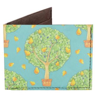Pear Tree teal Tyvek® Wallet Tyvek® Billfold Wallet