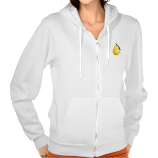 Pear :) hooded pullover