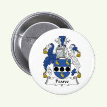 Pearce Family Crest Button
