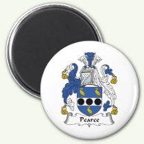 Pearce Family Crest Magnet