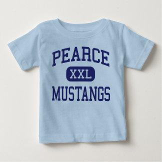 Pearce - Mustangs - High School - Richardson Texas Baby T-Shirt