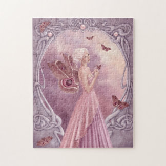 Pearl Birthstone Fairy Puzzle