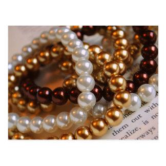 Pearl Bracelets Post Card