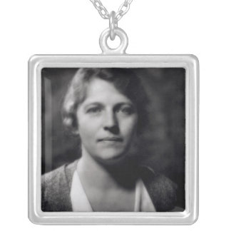 Pearl Buck Silver Plated Necklace