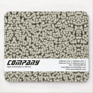 Pearl Cells Abstract, Business Mouse Pad
