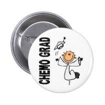 Pearl CHEMO GRAD 1 (Lung Cancer) Button