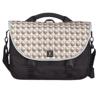 PEARL  : Cream Silken Glow Bags For Laptop
