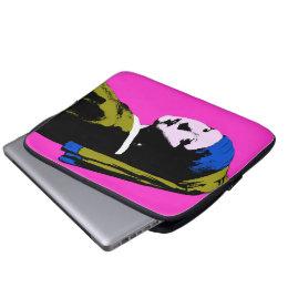 Pearl Earring ala Change Backgrnd Color) Laptop Sleeve