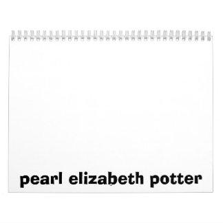 pearl elizabeth potter calendar