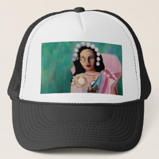 """Pearl Eyes Star Princess""  CricketDiane Art & Des Trucker Hat"