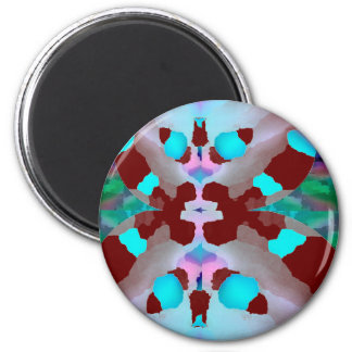 Pearl Fancy Doll 2 Inch Round Magnet