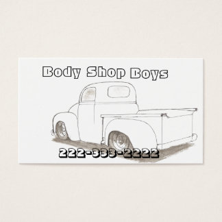 Pearl Finish Business Cards Automotive