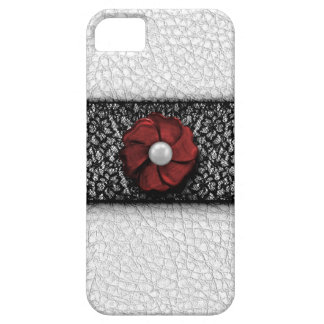 Pearl Flower and Lace iPhone 5 Case