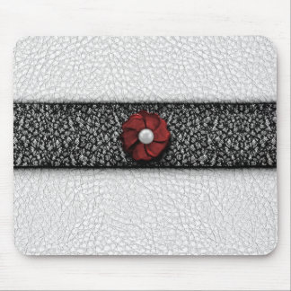 Pearl Flower and Lace Mouse Pad