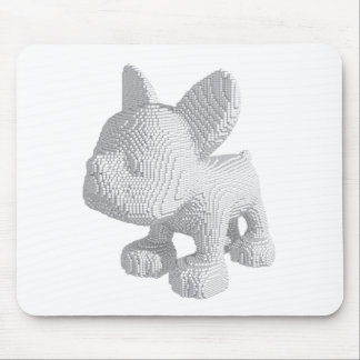 Pearl Frenchie Mouse Pad