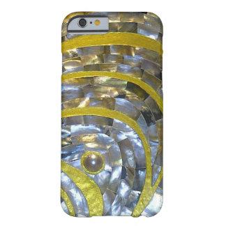 Pearl/gold design slim lightweight iPhone 6 case