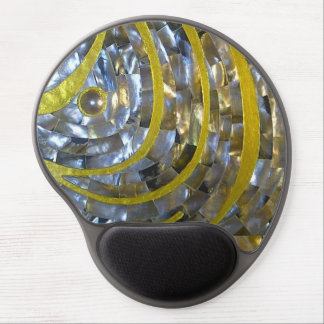 Pearl & Gold Gel Mouse Pad
