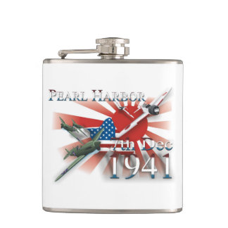Pearl Habor 7th Dec 1941 Flask