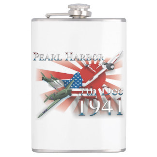 Pearl Habor 7th Dec 1941 Hip Flask