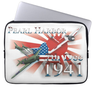 Pearl Habor 7th Dec 1941 Laptop Computer Sleeves
