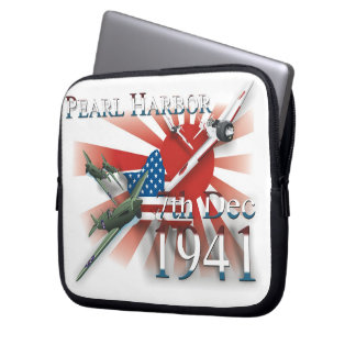 Pearl Habor 7th Dec 1941 Laptop Sleeve