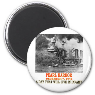 PEARL HARBOR 2 INCH ROUND MAGNET