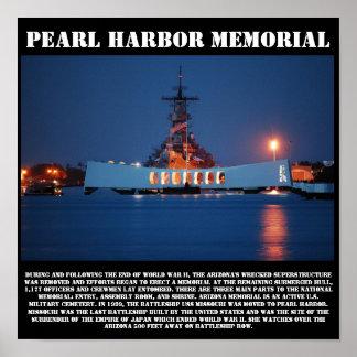 Pearl Harbor Memorial Print