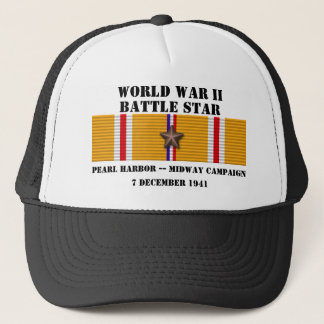 Pearl Harbor / Midway Campaign Trucker Hat