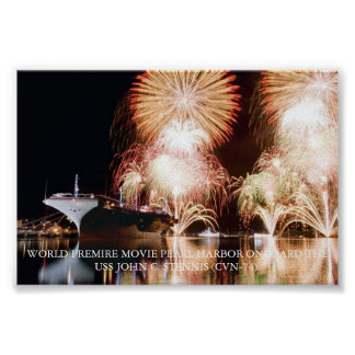 Pearl Harbor Movie World Premire Poster