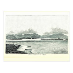 Pearl Harbor, Oahu, Hawaii 1890 Postcard at Zazzle